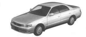 Toyota Chaser 2.0 Avante 1995 г.