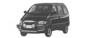 Nissan Serena 4WD Diesel Turbo 2000 1995 г.