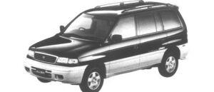 Mazda Efini MPV Type R-Four 2500 DieselTurbo (7 seaters) 1995 г.