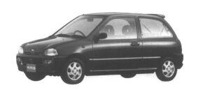 Subaru Vivio 3 door Sedan em-S 1995 г.