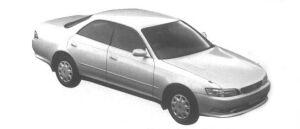 Toyota Mark II HardTop 2.0 Grande 1995 г.