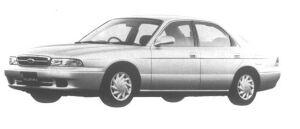 Mazda Ford Telstar II 18i-X 1995 г.