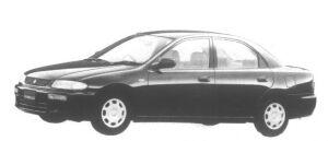 Mazda Familia Sedan LS Limited 1995 г.