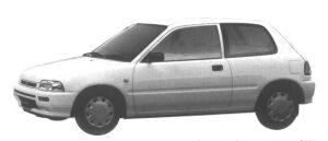 Daihatsu Charade POSE 1300 3 door 1995 г.