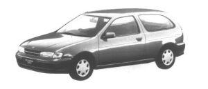 Nissan Pulsar Serier 3 door H/B 1500 REZZO 1995 г.