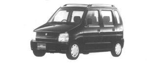 Mazda AZ-Wagon ZX 1995 г.