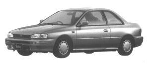 Subaru Impreza 2 door Coupe 1.6L 4WD Retna 1995 г.