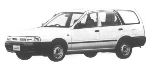 Nissan AD Wagon LE Pack 1995 г.