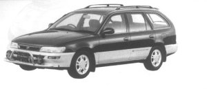 Toyota Corolla Wagon G Touring 1.6 4WD 1995 г.