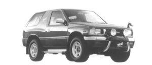 Isuzu Mu TYPE X 1995 г.