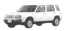 Nissan Rasheen Type II 1995 г.