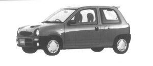 Mazda Carol XR Turbo 1995 г.