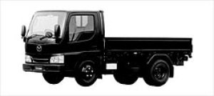 Mazda Titan 3 TON 4.3 LITER HIGH FLOOR NARROW CABIN 2002 г.