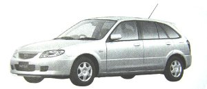 Mazda Familia S-WAGON S-f Special 2002 г.