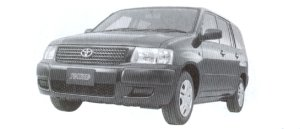 """Toyota Succeed WAGON 2WD 1.5TX """"G Package"""" 2002 г."""