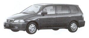 Honda Odyssey VZ 2002 г.