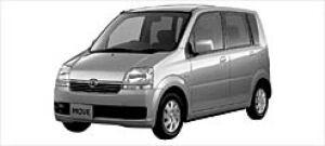 Daihatsu Move X 2WD 2002 г.