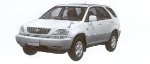 Toyota Harrier G  PACKAGE 2002 г.