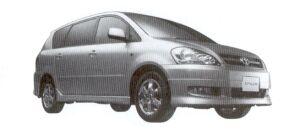 Toyota Ipsum 240s (2WD/7-seaters) 2002 г.