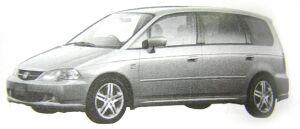 Honda Odyssey Absolute 2002 г.