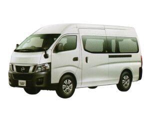Nissan NV350 Caravan Van DX (2WD, Gasoline) Super Long Body, High Roof, Standard Width, Low Floor, 9-passenger, 4 Doors 2017 г.