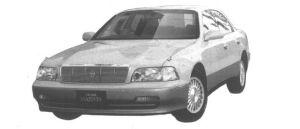 Toyota Crown Majesta C TYPE 1994 г.