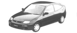 Mazda Familia NEO LS 1994 г.