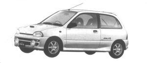 Subaru Vivio RX-R 1994 г.