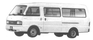 Mazda Bongo BRAWNY VAN WIDE LOW LONG BODY 2000EGI DX 1994 г.