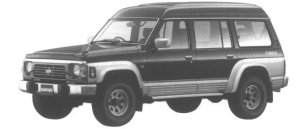Nissan Safari EXTRA HIGH ROOF GRAND ROAD 4.2L D. TURBO 1994 г.