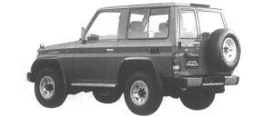 Toyota Land Cruiser Prado WAGON 2 DOORS SX 1994 г.