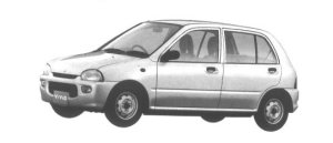 Subaru Vivio 5 DOORS SEDAN el 1994 г.