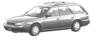 Subaru Legacy 4WD TOURING WAGON TX TYPE S 1994 г.