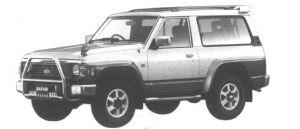 Nissan Safari WAGON TYPE II 2800 DIESEL TURBO 1994 г.