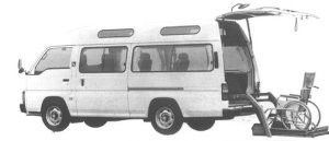 Nissan Homy 2WD GASOLINE 1994 г.