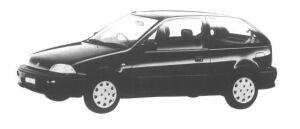 Suzuki Cultus 3  DOORS 1000F 1994 г.