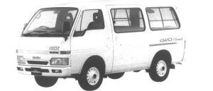 Isuzu Fargo VAN LS 4WD 1994 г.