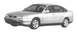 Mazda Ford Telstar TX5 20Vi 1994 г.