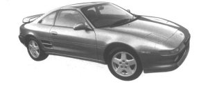 Toyota MR-2 G-LIMITED BAR ROOF 1994 г.