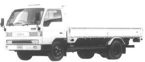 Mazda Titan 4T WIDE CABIN, LONG BODY,HIGH FLOOR 4.6L 1994 г.