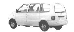 Nissan Serena CARGO 4 DOOR 1600 LX 1994 г.