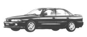Mitsubishi Galant V6 MIVEC 24V VX-R 1994 г.