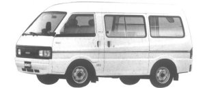 Mazda Bongo VAN LOW FLOOR HIGH ROOF 1500 GASOLINE LG 1994 г.