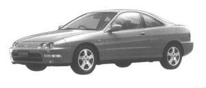 Honda Integra 3 DOORS COUPE Si VTEC 1994 г.