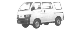Daihatsu Hijet VAN STANDARD ROOF 2WD 1994 г.