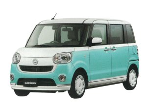 Daihatsu Move Canbus G Make Up SA III 2WD 2018 г.