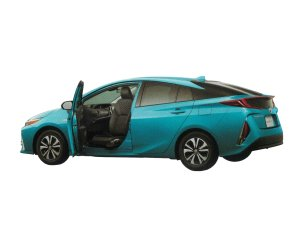 Toyota Prius PHV S NAVI Package Wellcab, Passenger Swivel Tilt Seat Vehicle (Manually Operated) 2018 г.