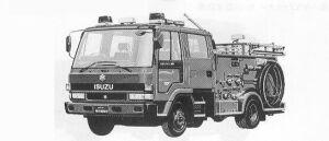 Isuzu Forward FIRE ENGINE PUMP 1991 г.