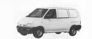 Nissan Vanette SERENA CARGO REFRIGERATOR 2WD 600KG 1991 г.