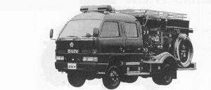 Isuzu Elf FIRE ENGINE PUMP CD-I 1991 г.